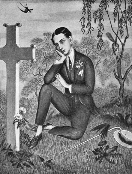 Philippe, 1924, dessin