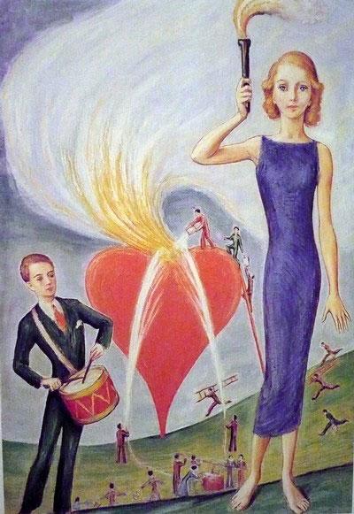Ett hjärta i brand (un cœur en flammes), 1930