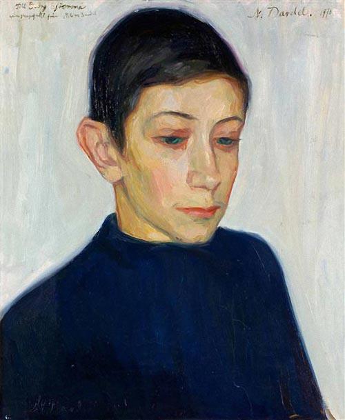 Gossporträtt (portrait de garçon), 1910