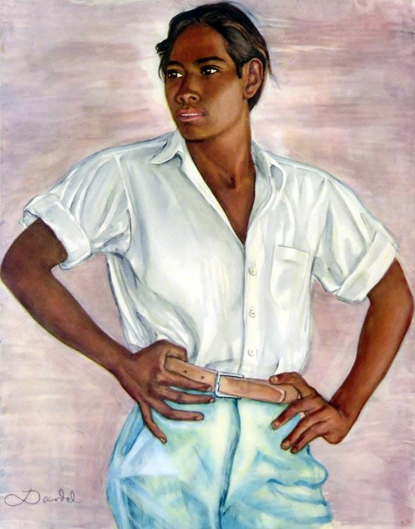Jeune Mexicain, ~ 1940